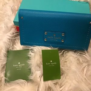 New with tags Kate Spade handbag in long wallet